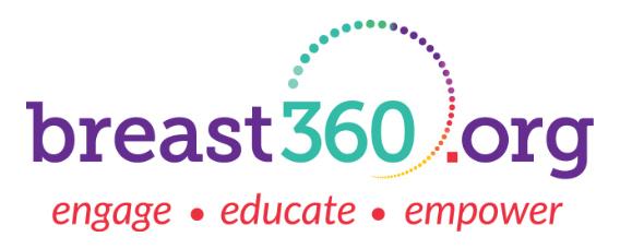 Breast 360 Logo